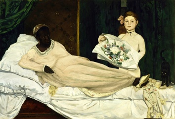 """2014. """"The Downgrading of Olympia"""", from """"Olympia"""", Edouard Manet"""