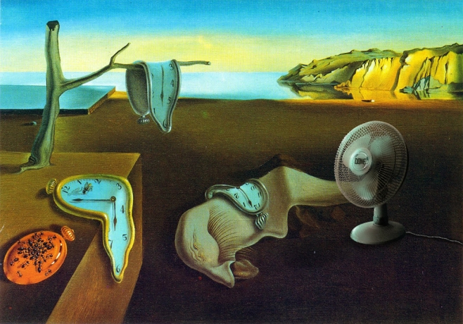 "2018. ""The Persistence of Heat"", from ""The Persistence of Memory"", Salvador Dalí"